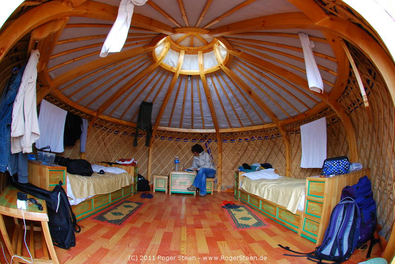 mongolische zelte